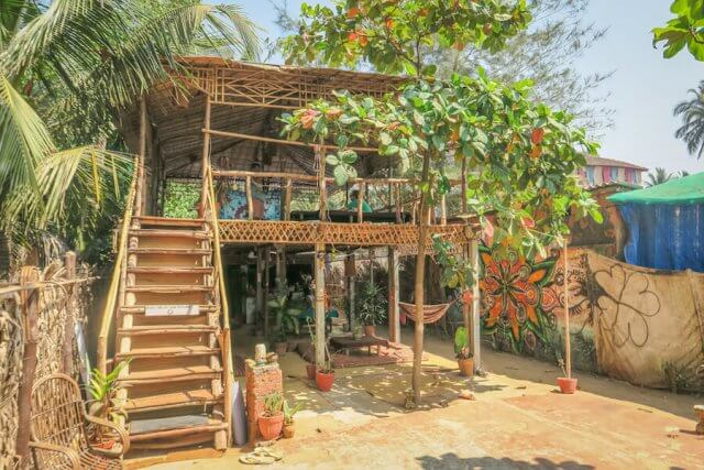 Goa Indien Body And Soul Cafe