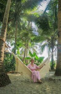 Goa Indien Anahata Retreat Hängematte
