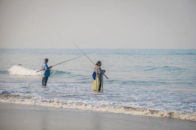 Goa Indien Agonda Fischer