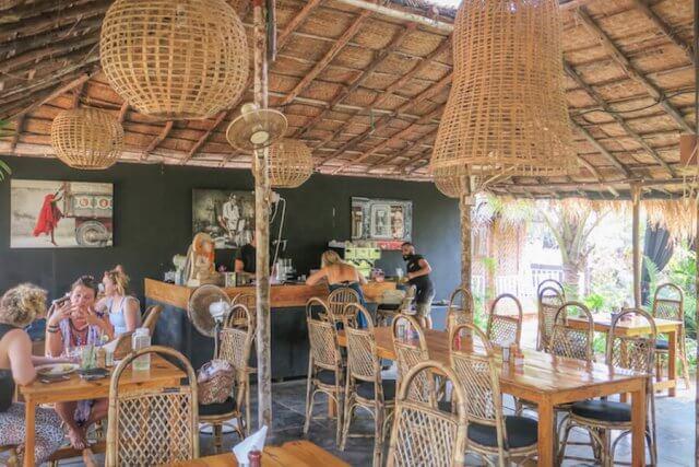 Goa Indien Palolem Zest Cafe
