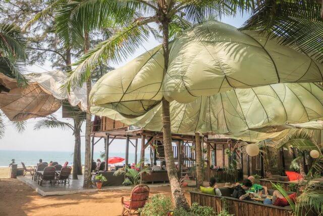 Goa Indien Jardim a mar Palolem Beach