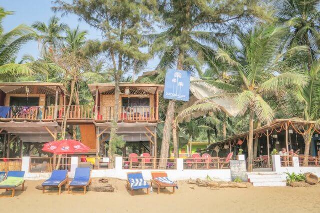 Goa Indien Jardim a mar Strand