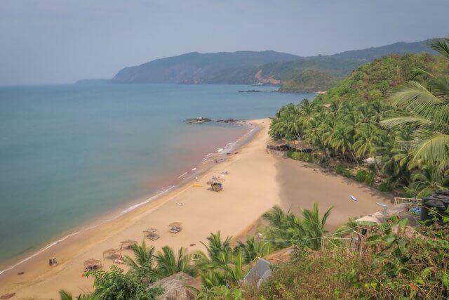 Goa Indien Cola Beach Strand