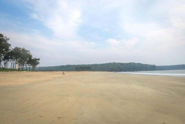 Goa Indien Galgibaga Beach