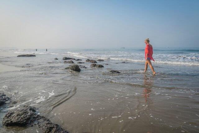 Goa Indien Agonda Meer
