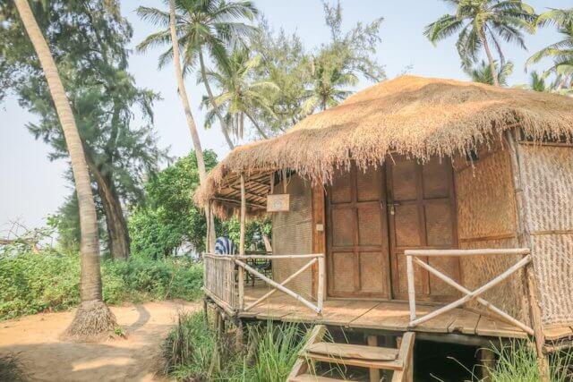 Goa Indien Anahata Retreat Bungalow