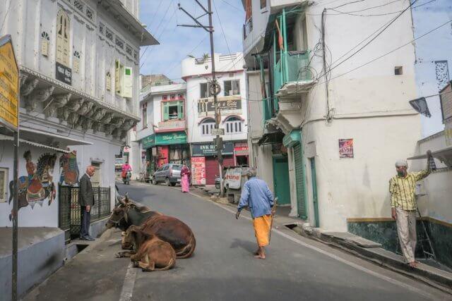 Indien Reisen Udaipur Altstadt