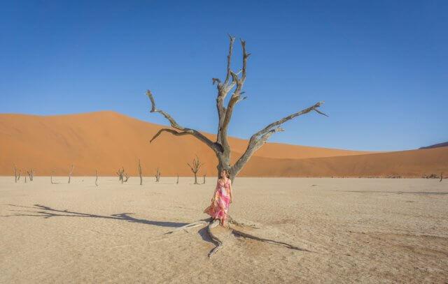 Namibia Rundreise Namib Sesriem Deadvlei