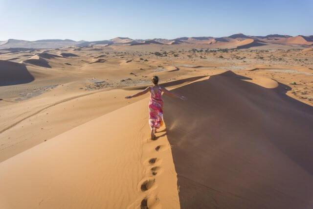 Namibia Rundreise Namib Sesriem Sossusvlei Big Daddy