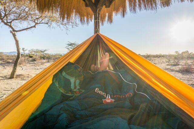 Namibia Rundreise Schlafsack