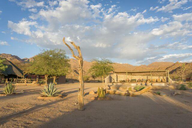 Namibia Rundreise Solitaire Desert Farm