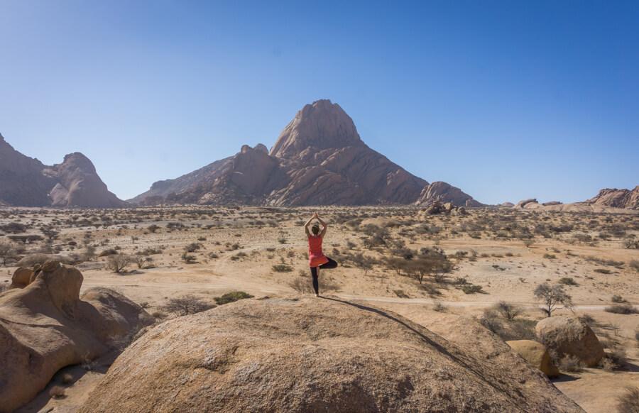 Namibia Rundreise Spitzkoppe