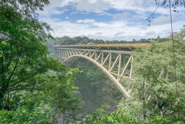 Viktoriafaelle Simbabwe Bridge Bruecke