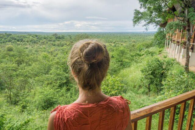 Viktoriafaelle Simbabwe Safari Lodge Aussicht