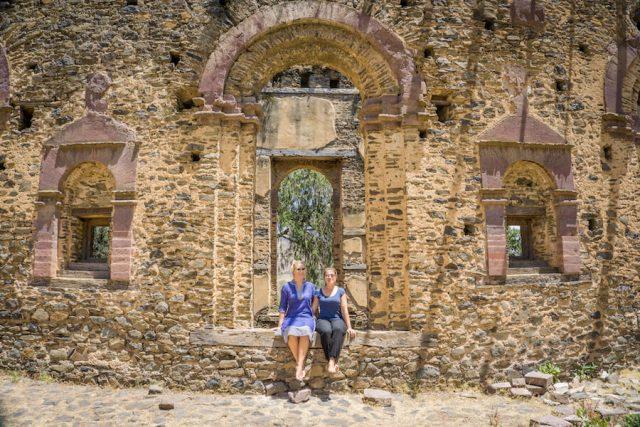 Aethiopien Reisen Gondar Ruinen Kirche