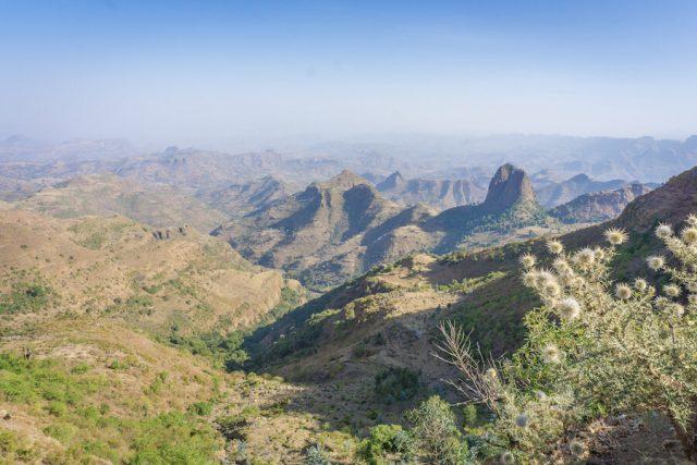 Aethiopien Reisen Simien Mountains Aussichtspunkt