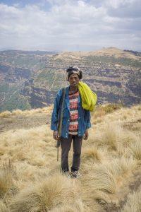 Aethiopien Reisen Simien Mountains bewaffnete Begleiter