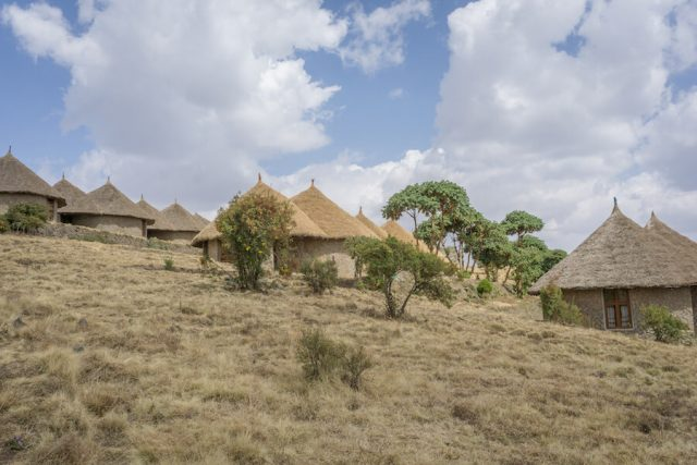 Aethiopien Reisen Simien Lodge höchste Lodge Afrikas