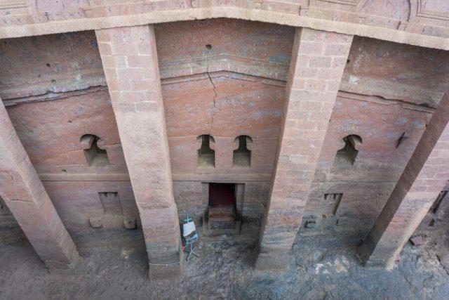 Aethiopien Reisen Felsenkirchen Lalibela