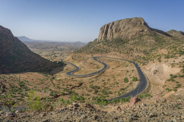Aethiopien Reisen Landschaft