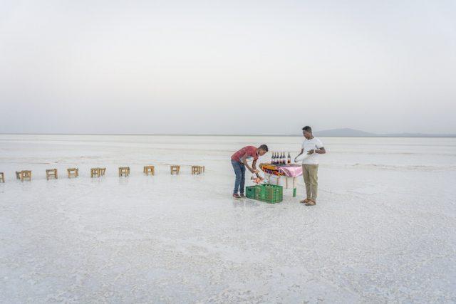 Aethiopien Reisen Danakil Senke Salzwüste