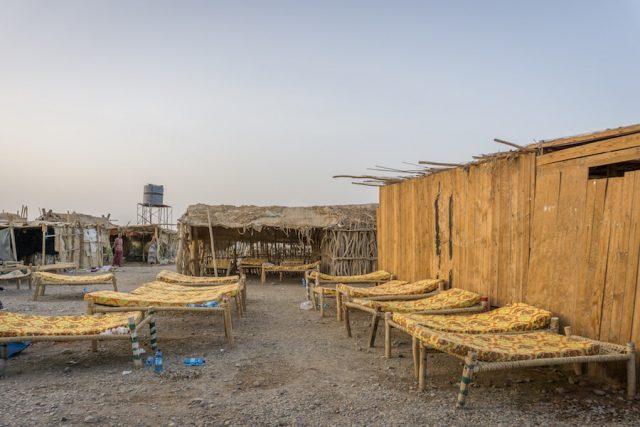 Aethiopien Reisen Jeeptour Danakilwüste Camp Übernachten