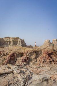 Aethiopien Reisen Jeeptour Danakilwüste Felsen