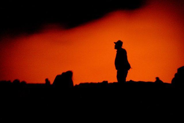 Aethiopien Reisen Erta Ale Vulkan aktiv Wanderung