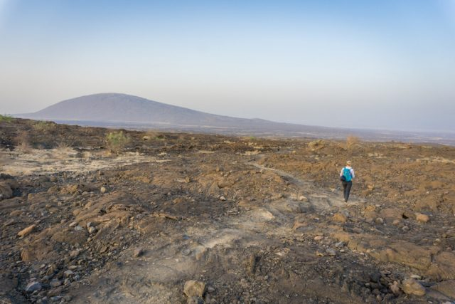 Aethiopien Reisen Jeeptour Danakilwüste Erta Ale Vulkan Wanderung