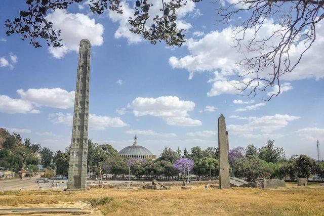 Aethiopien Reisen Axum Obelisken