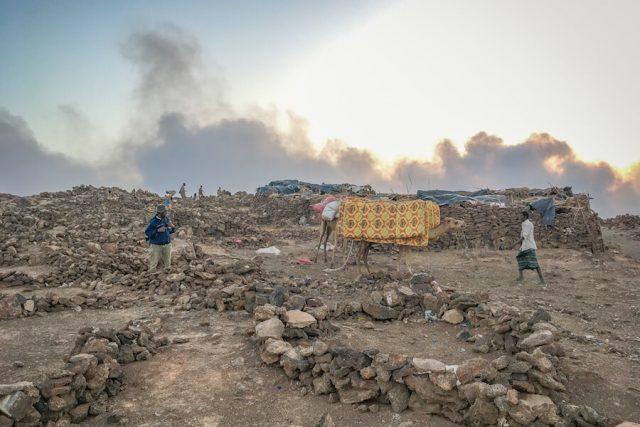 Aethiopien Reisen Erta Ale Vulkan Camp