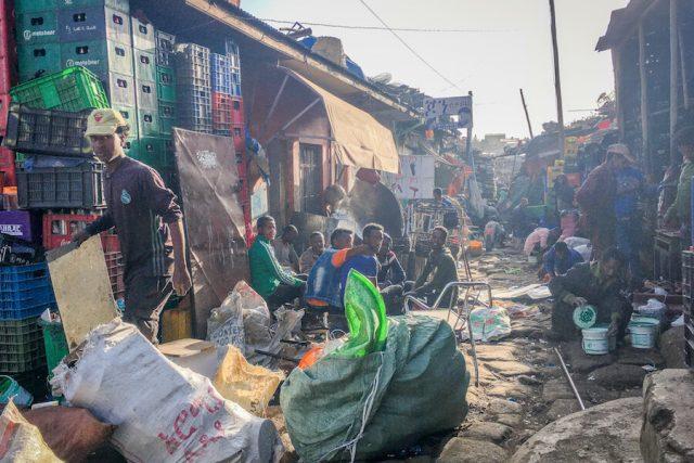 Aethiopien Reisen Markt Addis Abeba