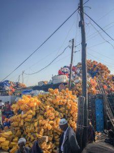 Aethiopien Reisen Markt Addis Abeba open air größter