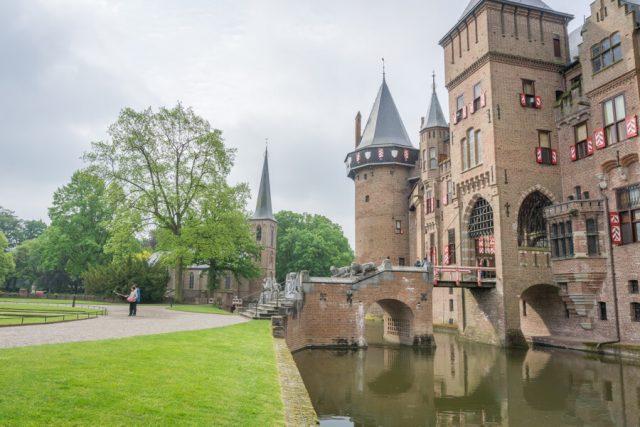 Holland Gelderland Utrecht Kasteel De Haar-2