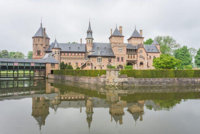 Holland Gelderland Utrecht Kasteel De Haar-3