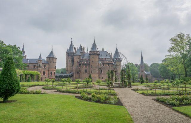 Holland Gelderland Utrecht Kasteel De Haar