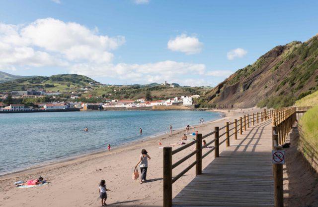 Porto Pim Beach Azoren