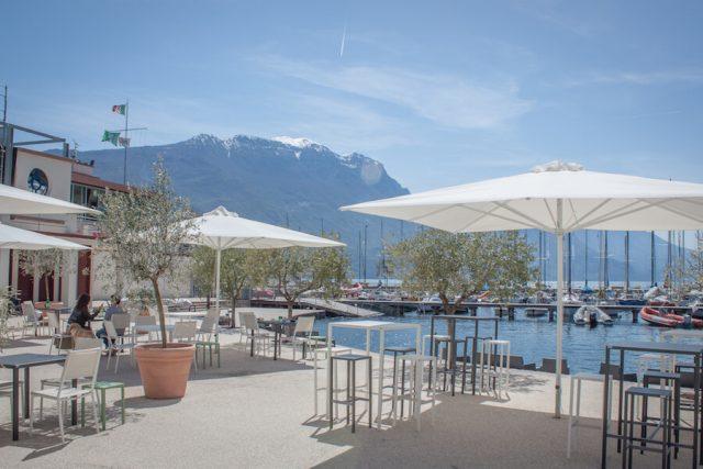 Sehenswuerdigkeiten Gardasee_Trentino_Riva del Garda Spiaggia degli Olivi