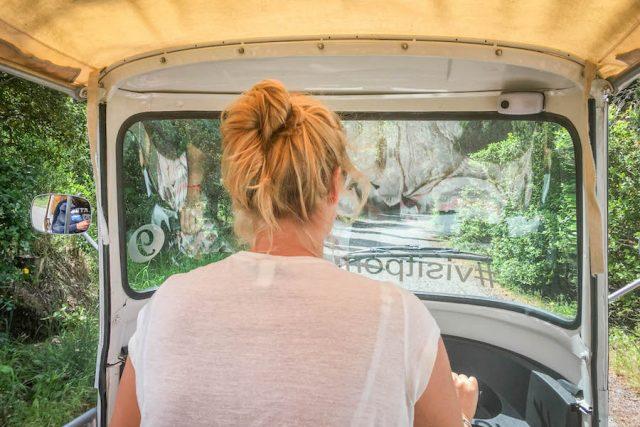 Toskana Italien Pomarance Duktus selbst fahren