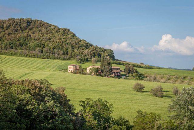 Toskana Italien Pomarance Agriturismo San Carlo