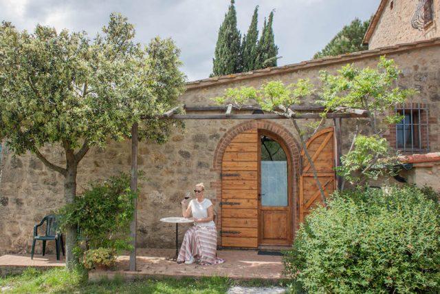 Toskana Italien Pomarance Agriturismo Apparita