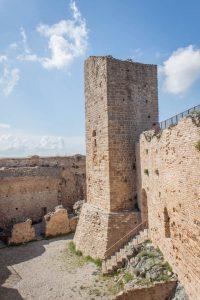 Toskana Italien Pomarance Rocca Sillana