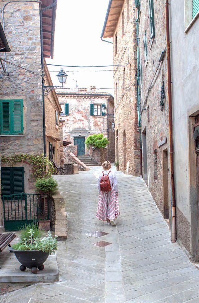 Toskana Italien Pomarance Montecastelli Pisano