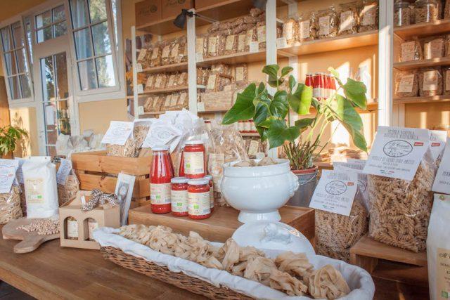 Toskana Italien Pomarance Agriturismo Il Cerreto Bio Shop