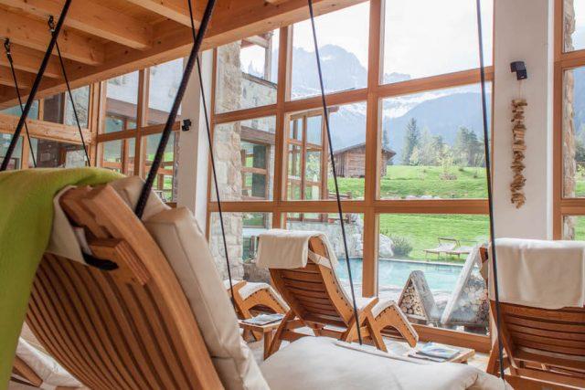 Wellnesshotel Suedtirol_Dolomiten Wandern_Urlaub Suedtirol Cyprianerhof Spa Entspannung