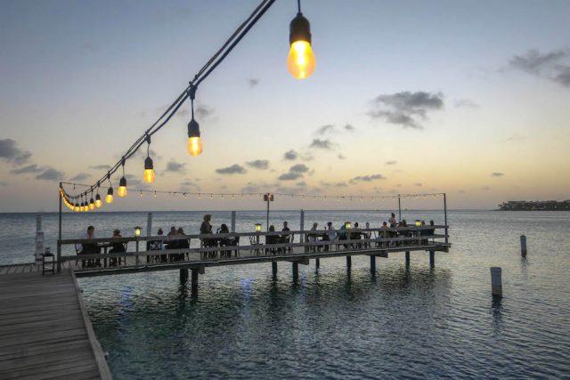 Aruba Urlaub ABC Inseln Pinchos Sonnenuntergang