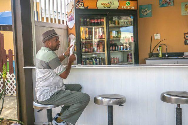Aruba Urlaub ABC Inseln Shoko snack