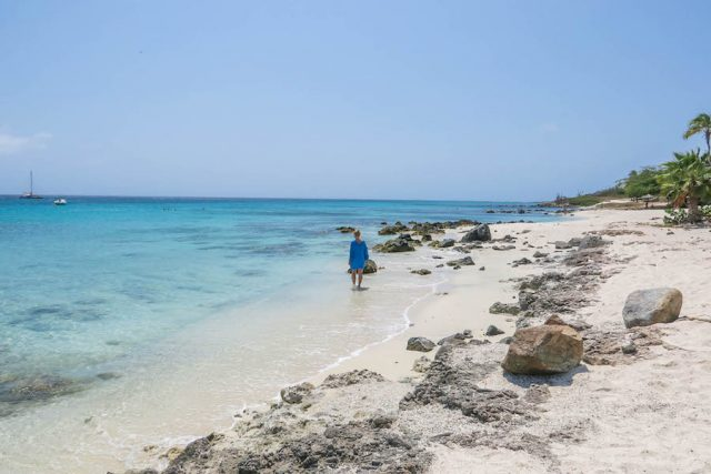 Aruba Urlaub ABC Inseln Boca Catalina Strand