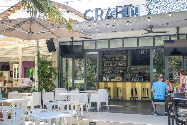 Aruba Urlaub ABC Inseln Craft Café