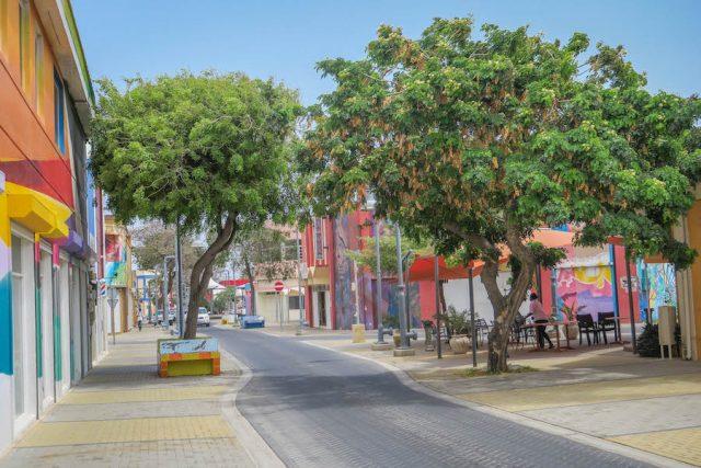 Aruba Urlaub ABC Inseln San Nicolas Innenstadt
